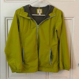 Girl's Lands End Rain Jacket